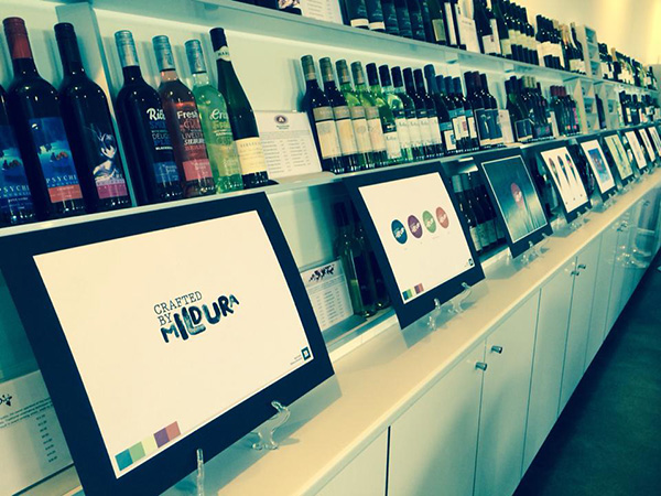 Wide variety of wines - Sunraysia Cellar Door