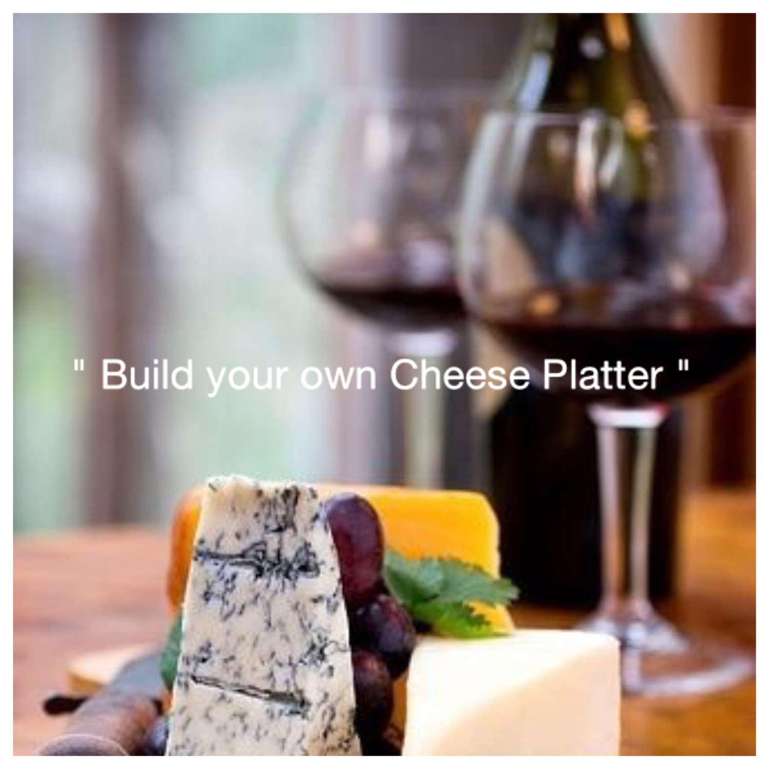 Build your own platter - Sunraysia Cellar Door