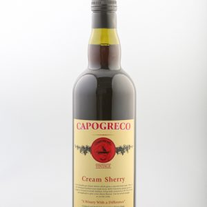 Capogreco Cream Sherry Wine - Sunraysia Cellar Door - Mildura