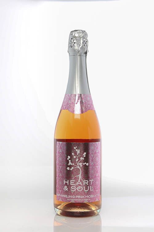 Heart & Soul - Sparkling Pink Moscato - Sunraysia Cellar Door