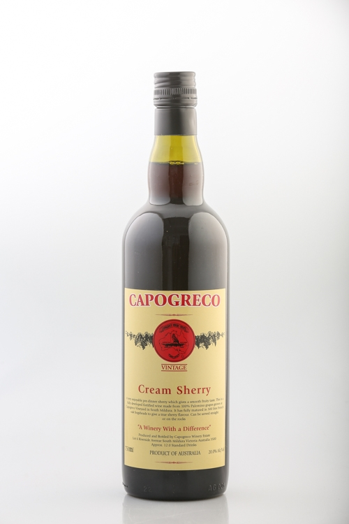 Capogreco Cream Sherry